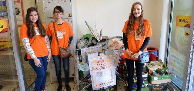 """29-30.09.2017 """"Podziel się Dobrym Posiłkiem"""" – akcja wolontariatu"""