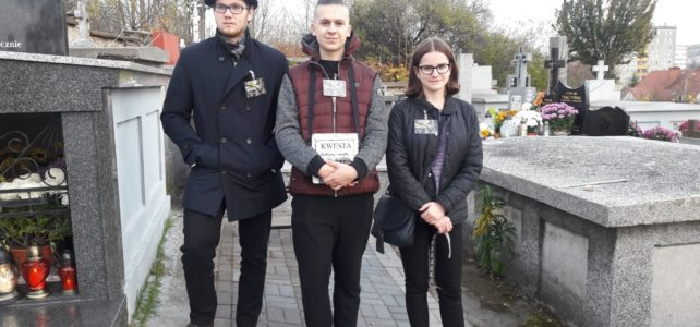 Kwesta na cmentarzu
