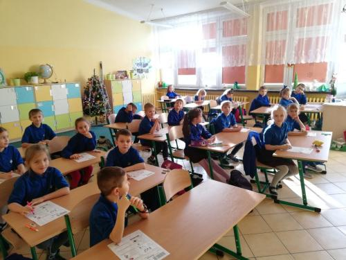 """9.01.2018 """"Olimpusek"""" klas 1a i 1b"""