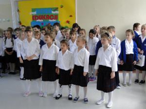 13.10.2017 Dzień Edukacji w klasach pierwszych SP